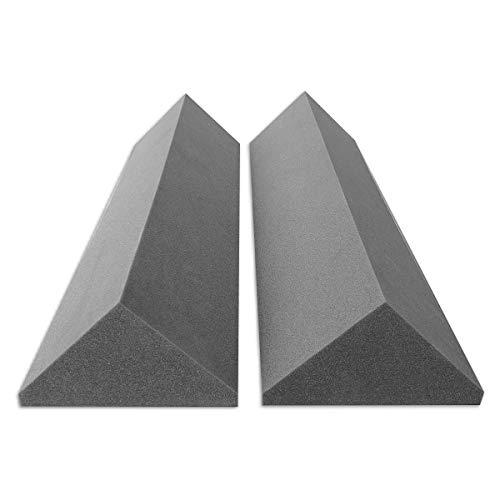 Preisvergleich Produktbild 2 Bass-Trap Absorberelemente,  100cm hoch,  Eckabsorber Breitbandabsorber,  Akustikschaumstoff