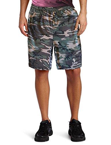Hombres Camuflaje Algodón Pantalones Cortos Para Baloncesto Deportes Gimnasio Rutina De Ejercicio Corriendo - Camuflar - Medium
