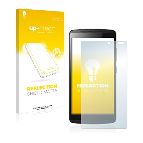 upscreen Matt Schutzfolie kompatibel mit Lenovo A7010 - Entspiegelt, Anti-Reflex, Anti-Fingerprint