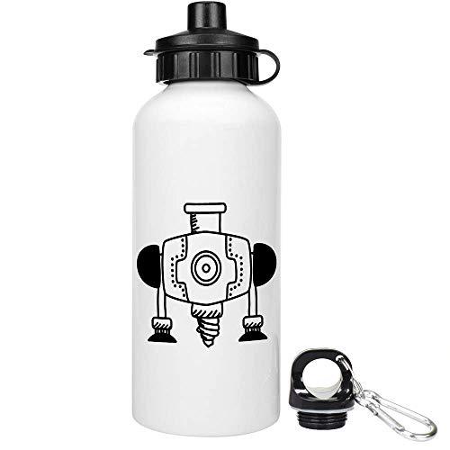 Azeeda 600ml 'Industriebohrer' Trinkflasche / Wasser-Flasche (WT00023589)