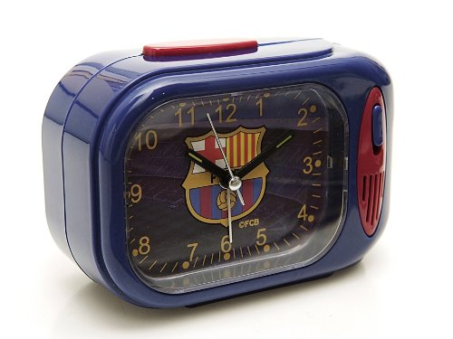 Productos Oficiales – Despertador rectangular himno fcbarcelona blaugrana