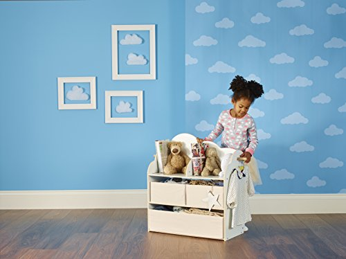 Hello Home 523SBT - Unidad de almacenamiento para niños condiseño de StarBright, color blanco