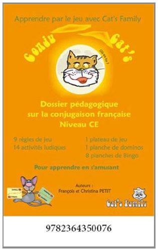 Conjug Cat's CE : Dossiers pédagogiques - Pour apprendre les 7 temps de conjugaison de manière ludique