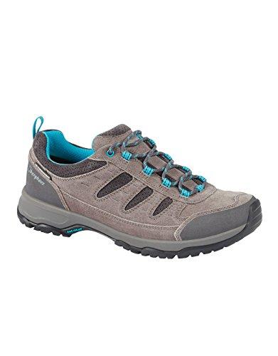 Berghaus Expeditor Active Aq Tech Shoes, Chaussures de Randonnée Basses Femme Multicolore (Grey/blue Z72)
