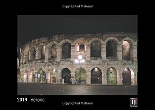 Verona 2019 - Black Edition - Timocrates wall calendar, picture calendar, photo calendar - DIN A3 (42 x 30 cm)