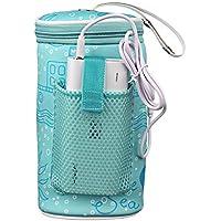 AUTOECHO portátil USB calefacción Inteligente Caliente Leche Herramienta Aislamiento Cubierta - bebé al Aire Libre Botella termostato Bolsa
