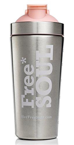 Free soul shaker in acciaio inox | bpa free | 800ml (793,8gram)