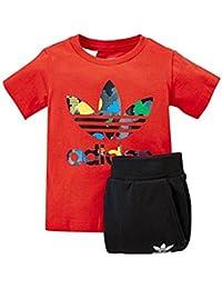 adidas - Survêtement - Bébé (garçon) 0 à 24 mois Rouge ... e540020d8fe7
