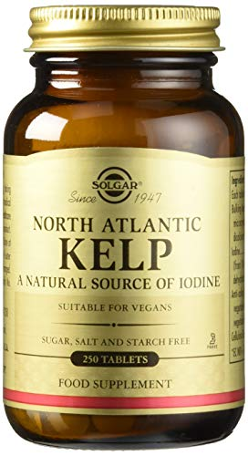 Solgar Kelp del Atlántico Norte Comprimidos - Envase de 250