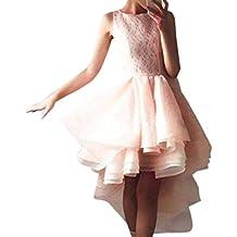 YiYLunneo Vestido Mujer Elegante Fiesta Hepburn Estampado Sexy Falda Estampado Floral Manga Larga Vintage Gótico Dress