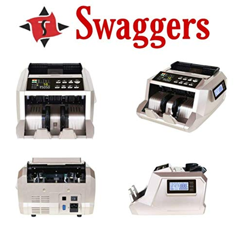 swaggers Blue Value Mix Value Updated Currency Counting Machine for New Currency 50,200,500,1000,2000 Notes