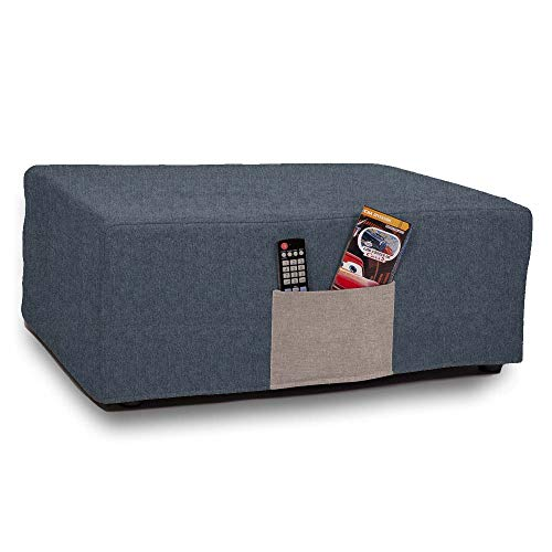 HOGAR TAPIZADO Puff Cama colchón Plegable VeKa Colchón Plegable 180x80x10 + Funda Antimanchas con Bolsillo (Antracita)