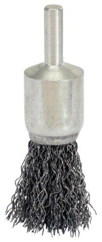 KS Tools 340.0020 Brosse métallique en acier de 0,5 mm, Ø 22 mm