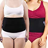Everyday Medical Plus Size Post Surgery Abdominal Binder I Bariatric Stomach Wrap I Hernia Support for Women and Men I Obesity Girdle great for Liposuction, Postpartum, C-section, Hernia-Size Wide 3XL