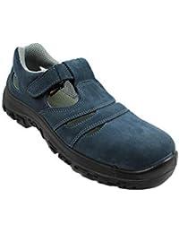 PSH Pablo S1 SRC Seguridad Zapatos Zapatos de Trabajo Zapatos de Escalada Sandalia Azul