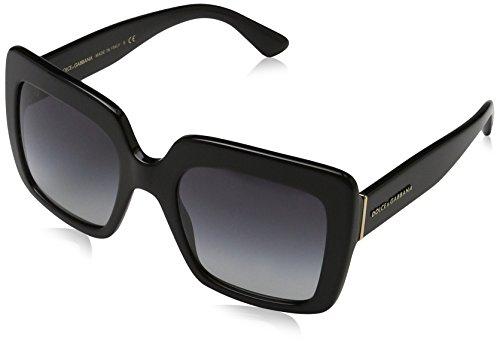 Dolce & Gabbana 0Dg4310, Gafas de Sol para Mujer, Negro (Black), 52