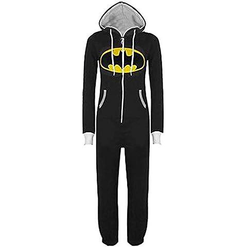 GenialES Pijama Encapuchado Mono Chándal Sudadera para Hombre o Mujer Disfraz para Halloween Carnaval