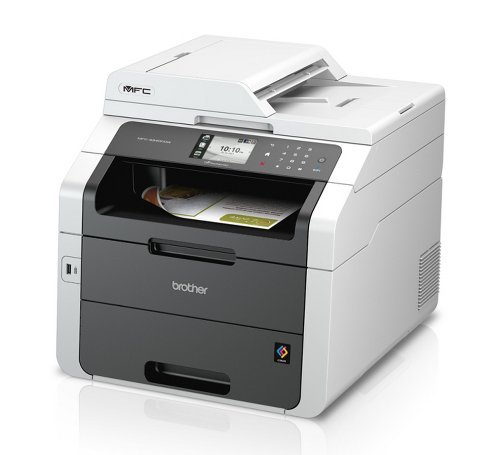 Bargain Brother MFC-9340CDW A4 Colour Multifunction Wireless All-In-One LED Printer + Extra Set Of Compatible TN241 /TN245 Toner (Black 2500 C,M,Y 2200 Pages)