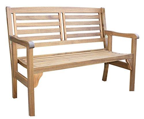 colourliving® Panca da giardino in legno panchina pieghevole in legno di acacia paese casa Panchina