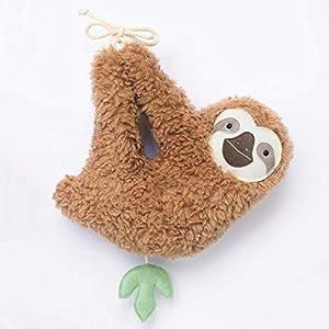 Baby Spieluhr Faultier von Petiti Panda, zum Aufhängen, aus Baumwoll-Plüsch gefertigt