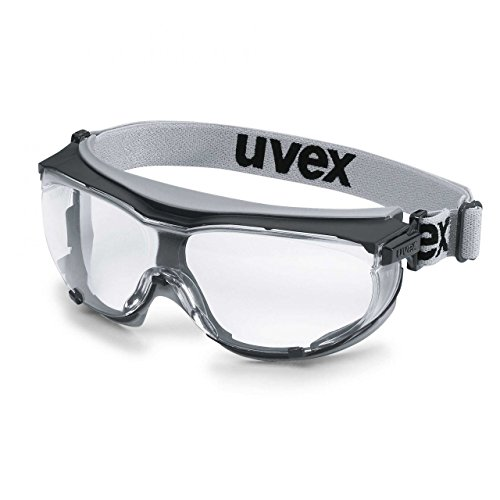 f087f67f225 Uvex CarbonVision Proffesional Safety Goggles with the Headband - Clear  Glasses  Anti fog