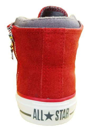 Converse  CT PC Side Zip Mid Boots, Montante mixte adulte Rouge - rouge
