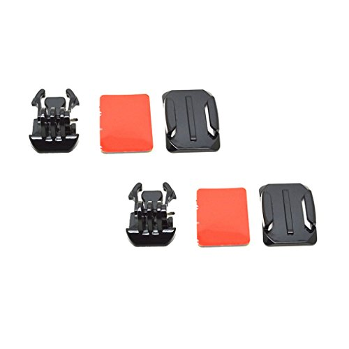 Baoblaze 2 Satz 3 in 1 Base Mount Kit Kamera Zubehör Kit Für GoPro Hero 4 3+ 3 2 1 -