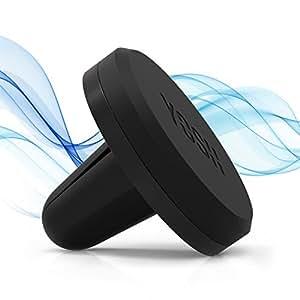 Supporto Auto Smartphone YOSH® Magnetico Universale Supporto per auto✪ GARANZIA A VITA ✪ Porta Cellulare Auto per iPhone 7 7plus 6s 6 plus 5s 5 5c, Samsung Galaxy S7 S6 edge, HUAWEI, ASUS, LG G5, G4, V10, HTC Nexus e Tablet o GPS (Nero)
