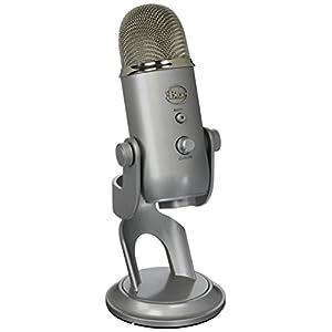 Blue Mikrofone Yeti Silber