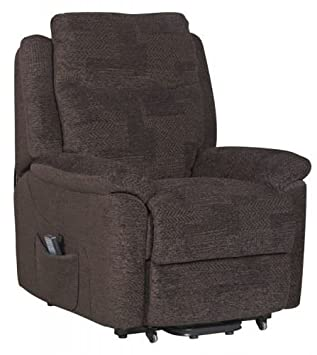 Evesham Fabric Electric Dual Motor Riser Recliner Chair Rise and Recline Armchair - Chocolate Amazon.co.uk Health u0026 Personal Care  sc 1 st  Amazon UK & Evesham Fabric Electric Dual Motor Riser Recliner Chair Rise and ... islam-shia.org