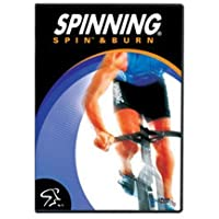 SPINNING® Fitness DVD Spin und Burn - Bicicletas estáticas Fitness (Interior), Color n/a