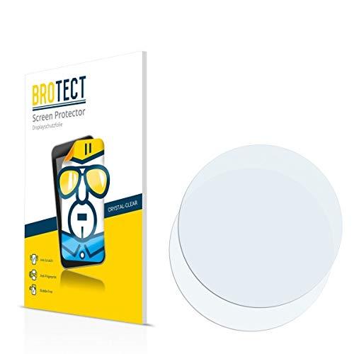 2X BROTECT HD Clear Bildschirmschutz Schutzfolie für Fossil Q Commuter (Kristallklar, extrem Kratzfest, schmutzabweisend)
