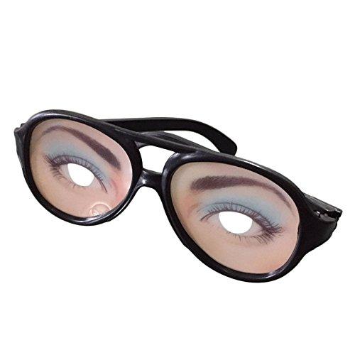 Hanbaili Lustige Brillen Männer Frauen Humorvoll Neuheit Party Comedy Shades Ändern Witz