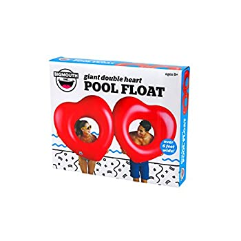 Bigmouth Inc Giant Double Hearts Pool Float 2