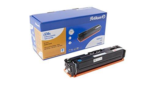Pelikan Toner ersetzt HP CF401A (passend für Drucker HP Color LJ Pro M 252 / -270 / -274 / -277)