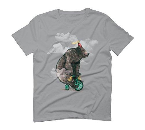 Bear lifestyle Men's Graphic T-Shirt - Design By Humans Opal