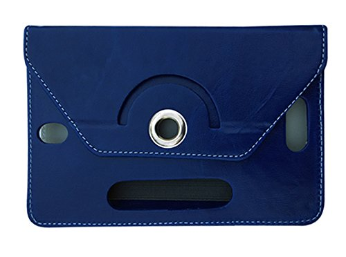 Fastway Rotating Flip Cover For Samsung Galaxy Tab 4 T231 Tablet( 8 GB, Wi-Fi+3G)-Blue  available at amazon for Rs.249