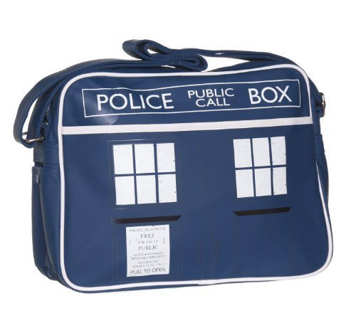 Dr Who - Tardis Retro Sports Bag