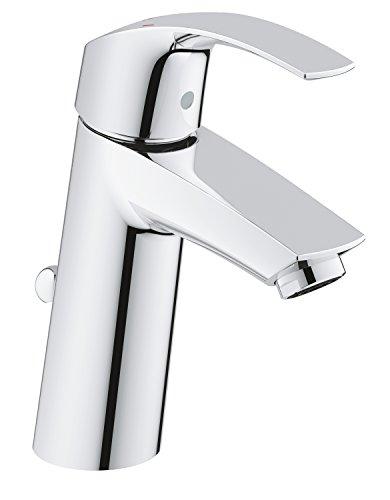 Preisvergleich Produktbild Grohe Eurosmart Waschtischarmatur, mit Zugstange, M-Size, Wasserhahn, Armatur, Waschtischarmatur, Waschbecken, Mischbatterie, Wasserkran(23322001)