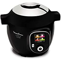 Moulinex Cookeo Connect CE855800 - Robot de Cocina Conetado a Tablet o Smartphone Alta Presión,
