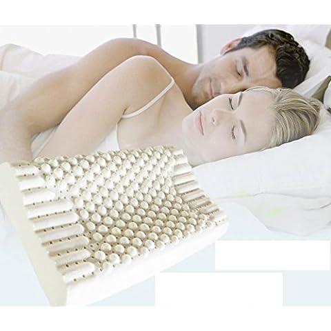 LUN Massaggio cuscino cuscino cervicale collo cuscino lattice di gomma naturale