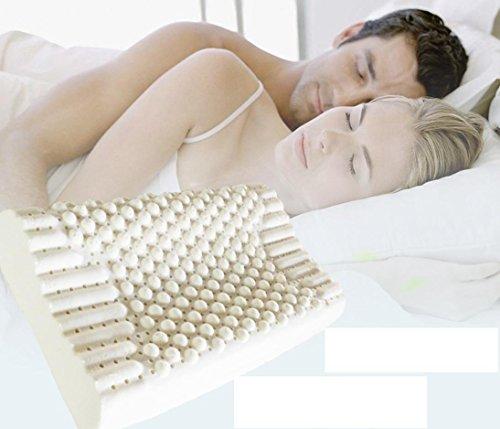 Massaggio cuscino cuscino cervicale collo cuscino lattice di gomma naturale