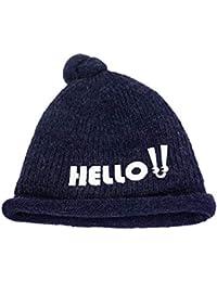 AiNaMei Cappello da Donna in Lana d Autunno e Invernale più Cappello di  Lana Calda 9e8b5203bba6