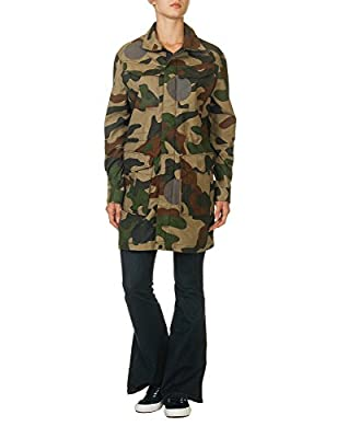 G-Star Women's Rovic Parka Women's Jacket With Camo Print 100% Cotton by G-STAR