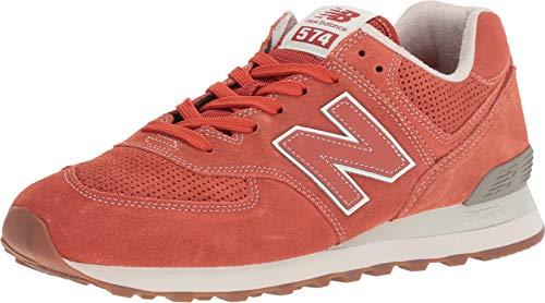 New Balance ML574ESH Scarpe da ginnastica, Uomo, Rosso, 52 EU