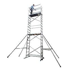 Superb 7m DIY Scaffold Tower - Aluminium (Zarges Tubesca First 7)