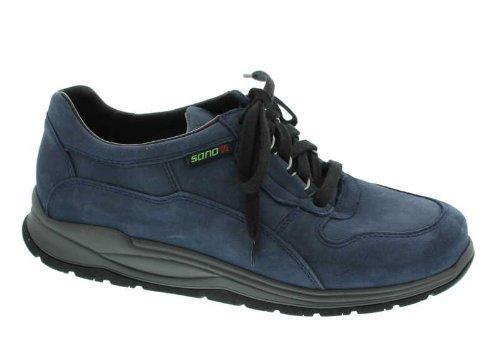Mephisto Sano Slash Navy Blue Nubuck Walking and Rolling Shoes for Women (5  UK) 8ff6b3091d0