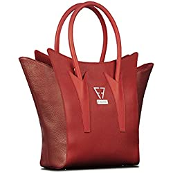FARNIS Bolso de piel. Model Wilma Red