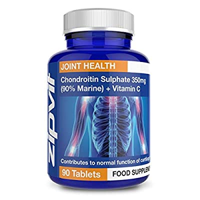 Chondroitin Sulphate 350mg, Pack of 90 Tablets, by Zipvit Vitamins Minerals & Supplements from Zipvit
