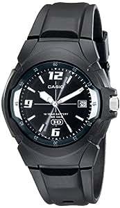 Casio - MW-600F-1AVCF - Montre Homme - Quartz Analogique - Aiguilles lumineuses - Bracelet Caoutchouc Noir